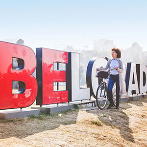 Belgrade on Two Wheels: Bicycle Tour in Belgrade
