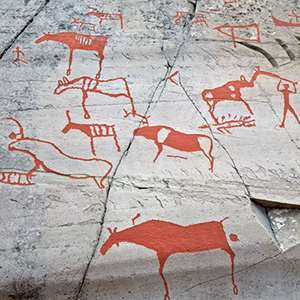 Museum and Rock Carvings