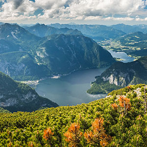 Lake Hallstatt from 5 Fingers: A View from Above