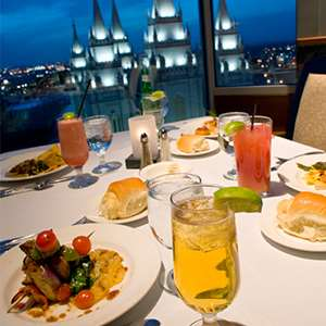 Dinner at Temple Square