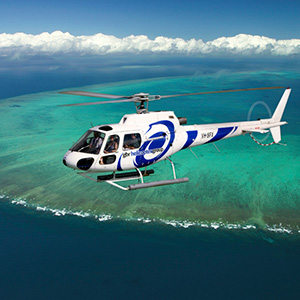 Upgrade One Way Helicopter Flight from Great Barrier Reef