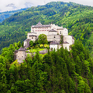 Hohenwerfen Castle & Its Remarkable Birds of Prey