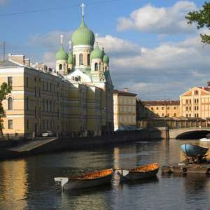 St. Petersburg Romantic Canals