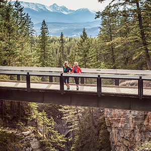 Magical Mystical Maligne Canyon Walk