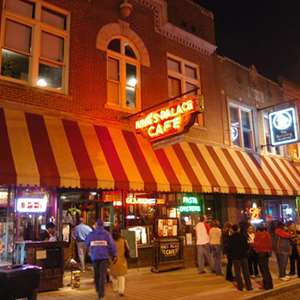 Dinner and the Blues on Beale Street