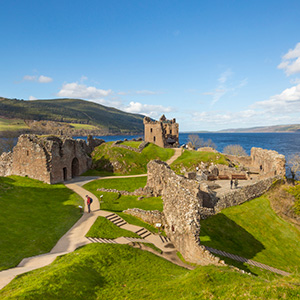Loch Ness Cruise, Urquhart Castle and The Highlands