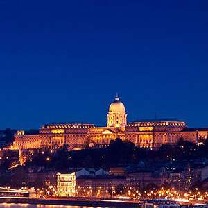 Budapest's Night Lights
