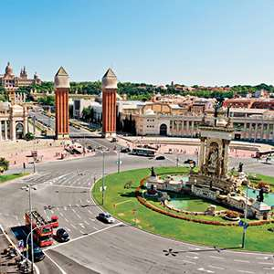 Barcelona Hop-On/Hop-Off City Sightseeing Tour
