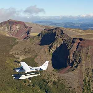 Mt Tarawera Volcanic Valley by Floatplane