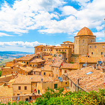 DELVE: Time Travel in Tuscany