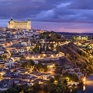 Lights & Shadows of Toledo with Tapas & Wine