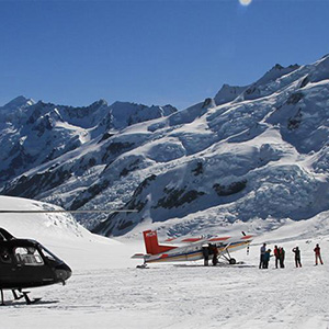 Glacier Highlights by Ski Plane or Helicopter - 45 minutes