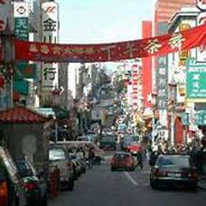 Evening In Chinatown