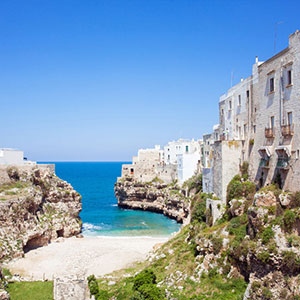 Polignano A Mare: Picturesque Fishing Village On The Sea