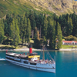 Cruise onboard the historic TSS Earnslaw Steamship