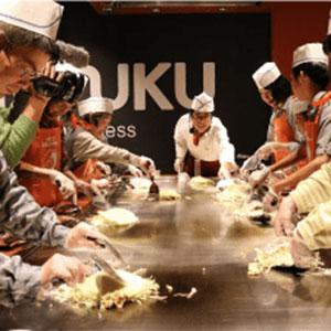 Okonomiyaki Cooking Class & Dinner