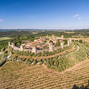 A Taste of Tuscany with San Gimignano & Monteriggioni