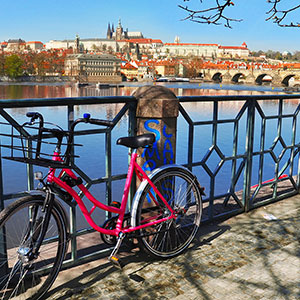 Czech Republic on Two Wheels: Prague by eBike
