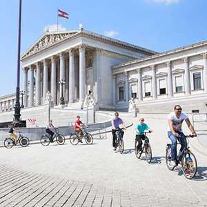 Biking in Vienna