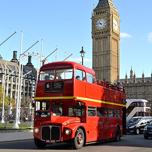 Open Top Vintage Bus Tour and Cruise