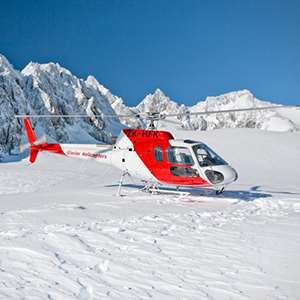 Helicopter Ride with Glacier Snowlanding