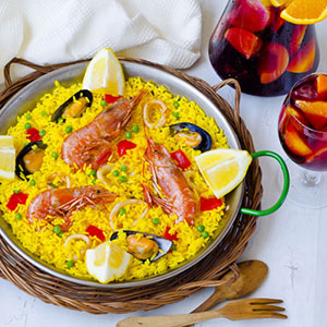 Sangria-Making and Paella Dinner