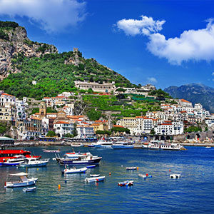 Unforgettable Amalfi Drive and Village