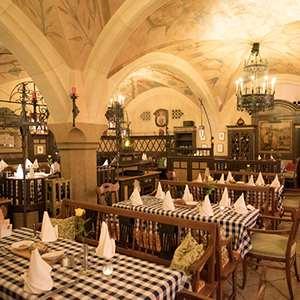 Bavarian Dinner at an Historic Beer Mall