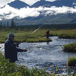 Denali Fly fishing Experience