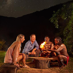 Tjapukai Aboriginal Cultural Park with Night Fire Dinner