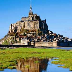 Mont St. Michel with guide
