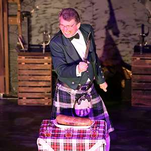 Scottish Evening with Bagpipers and Ceremony of the Haggis