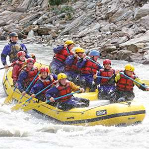 Rafting the Nenana River