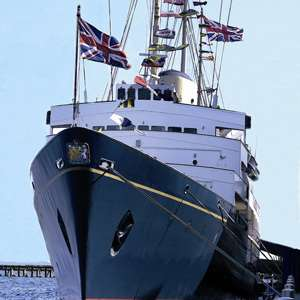 Royal Yacht Britannia Excursion and Dinner