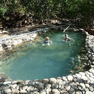 Caldera Hot Springs & Horseback Riding