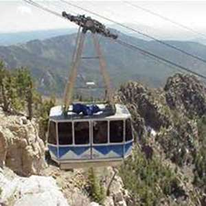 Sandia Peak Tramway & dinner