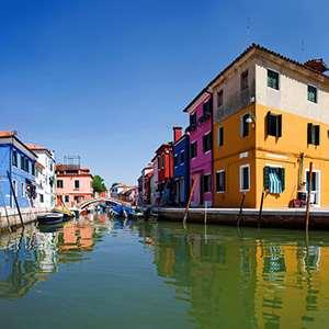 Venetian Lagoon Cruise with Burano Visit