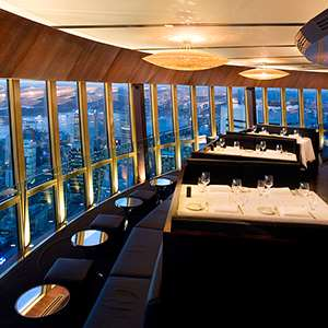 Revolving Restaurant 3 Course Dinner