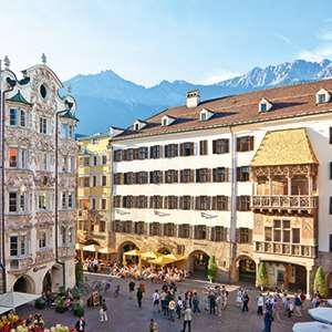 Nordkette Cable Car Over Innsbruck