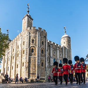 Tower of London and Crown Jewels