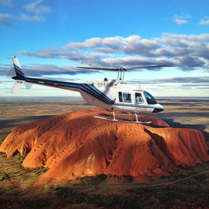 Ayers Rock by Helicopter