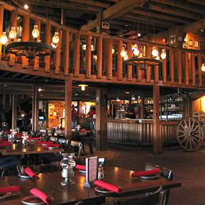 Western Dinner at Rustler's Rooste Cowboy Steakhouse