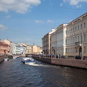 St. Petersburg Canal Cruise