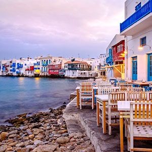 A Day in Mykonos