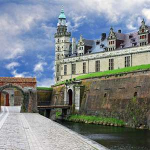 Fairy Tale Castle Frederiksborg and Scenic Danish Riviera