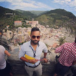 tour director FRANCESCO NARDIN