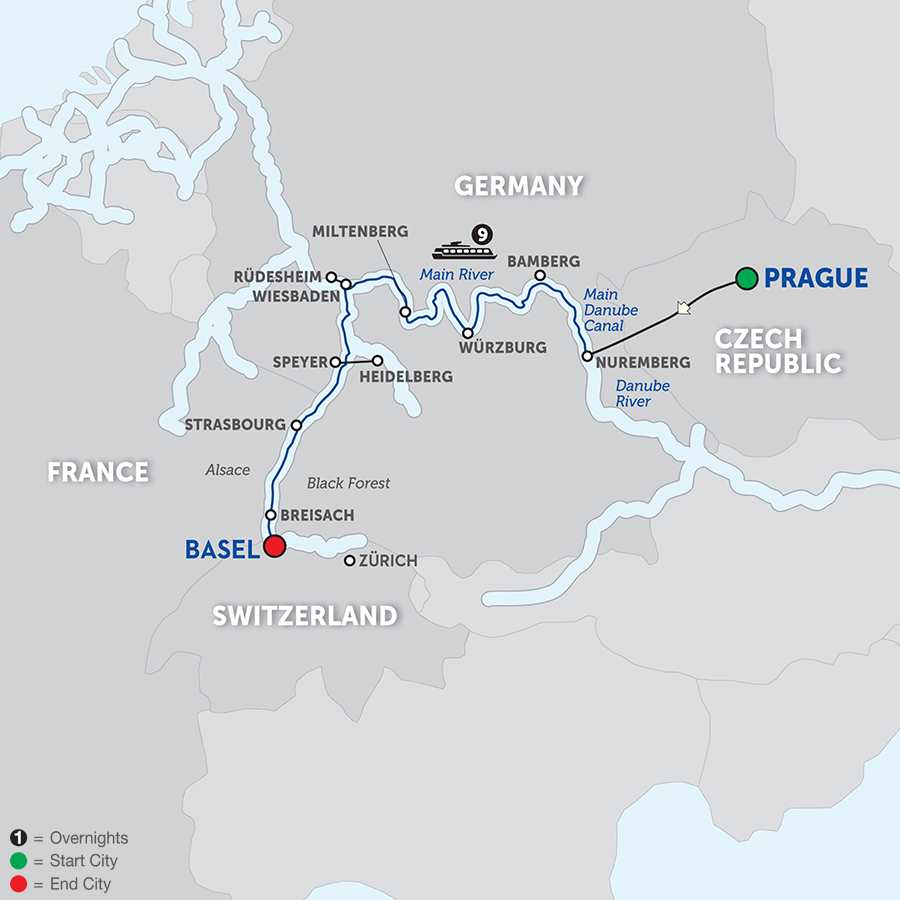 Breisach Germany Map.Offer Details Directional Strategies Travel