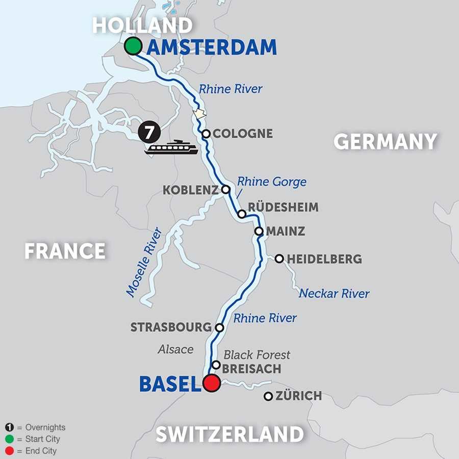 Romantic Rhine – Southbound (WAZ2018)