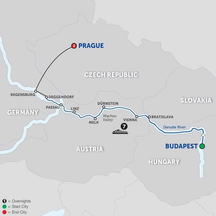 Danube Dreams Westbound (WBD2018)