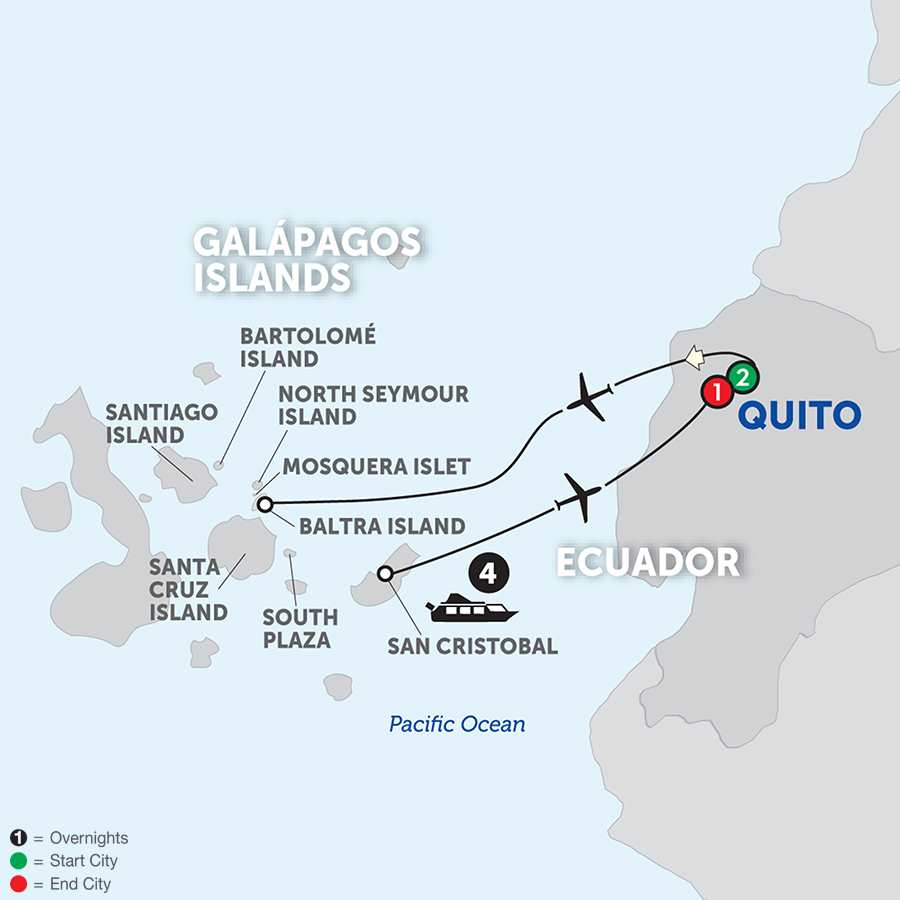 Tour Quito Galapagos Islands